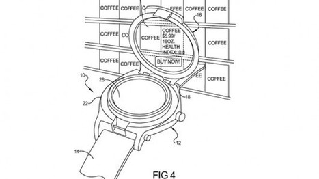 Google patent points to their own augmented-reality smartwatch - Mobile Magazine | Augmented Reality Stuff For You | Scoop.it