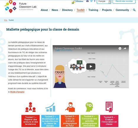 Mallette pédagogique pour la classe de demain | Usage Numérique Université | Scoop.it