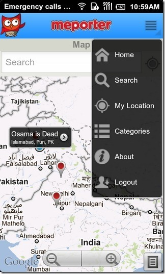 Location-Based Citizen Journalism App Meporter Lands on Android | Mobile Journalism Apps | Scoop.it