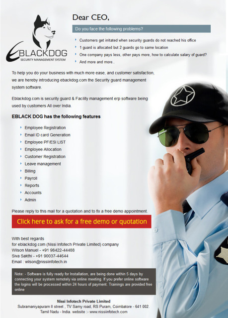 Monitor and manage your guard's agency | Web Based Inventory | Scoop.it