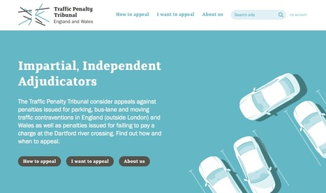 Traffic Penalty Tribunal, the final arbitration for parking penalty appeals in the UK | Digital Portfolio by Small Back Room | Scoop.it
