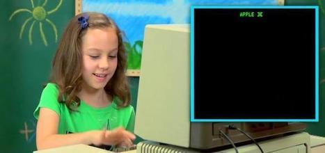 La réaction des enfants face à un vieil ordinateur | techno-communication et relations humaines | Scoop.it