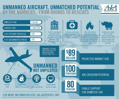 Unmanned Aircraft - Unmatched Potential Aerospace Industries Association | Aerial Isys - Aerial Information Systems | Scoop.it