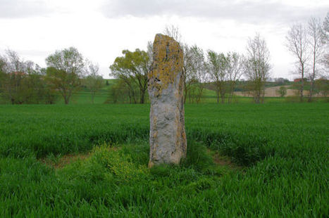 Le menhir de Vieux | Megalithes en photo | Scoop.it
