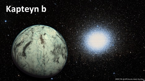 Kapteyn B: Oldest Known Potentially Habitable Exoplanet Found | Amazing Science | Scoop.it