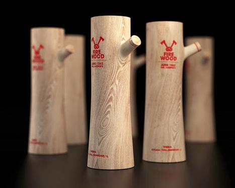 Creative Package Design: Firewood Vodka (Concept)   Art, Design & Technology   Scoop.it