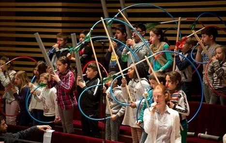 Un orchestre lillois en matériaux recyclés pour une pédagogie innovante | Infos CDI | Scoop.it