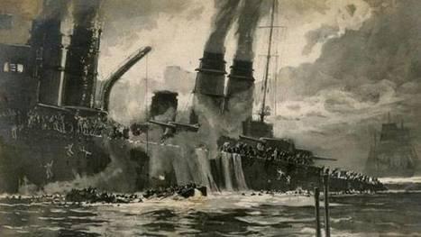 Il y a 100 ans, le Léon-Gambetta coulait au large de l'Italie - France Info | Veille histoire | Scoop.it