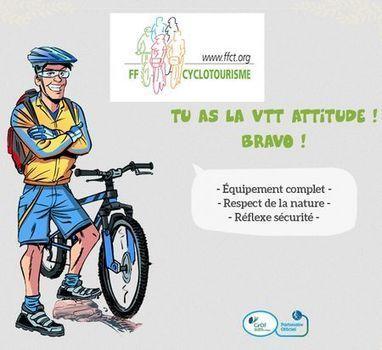 As-tu la VTT attitude ? | RoBot cyclotourisme | Scoop.it
