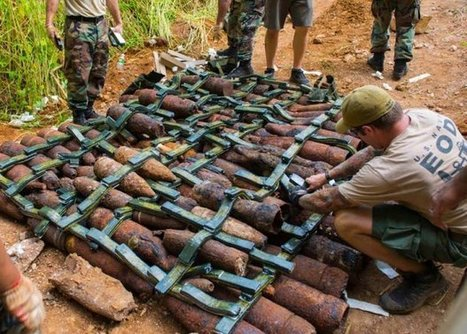 EOD techs continue WWII ordnance cleanup on Saipan - WAR HISTORY ONLINE | History Around the Net | Scoop.it