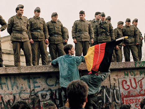 Monument to Berlin Wall's fall symbolizes how Germans are still coming to terms with its painful history | Osborne IB History | Scoop.it