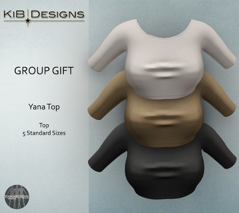New Group Gift!!!! ⋆ DesigningSL | 亗 Second Life Freebies Addiction & More 亗 | Scoop.it