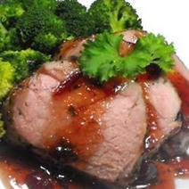 Quick Savory Cranberry Glazed Pork Loin Roast | Ta-Da Internet Food & Cooking Network | Scoop.it