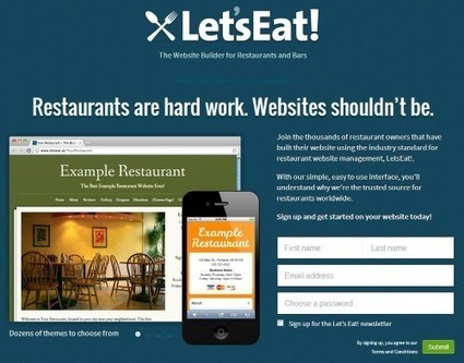 20 sitios gratis para diseñar tu propia página web (Parte II) | Las TIC y la Educación | Scoop.it