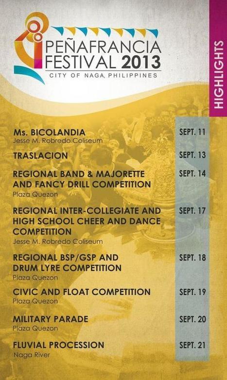 Our Lady of Peñafrancia Festival 2013 | Civil Service Exam | Philippine Festivals | Scoop.it