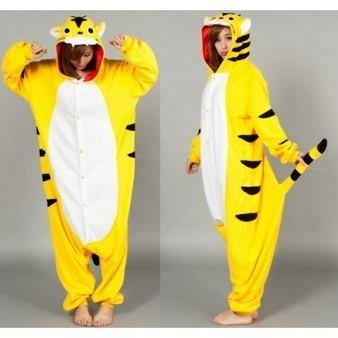 Fierce Yellow Angry Tiger Adult Kigurumi Costumes Pajama - Favorbuying.com | Personalized Clothing | Scoop.it