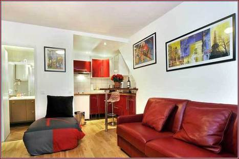 Paris Studio Apartment Rental Near rue Montorgueil | Vacation In Paris | Scoop.it