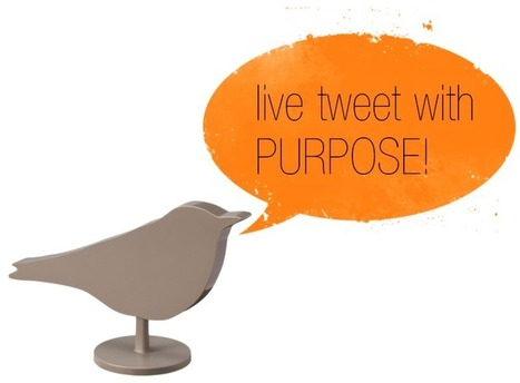 Live Tweeting Success | Social Media Today | Technology Wows | Scoop.it