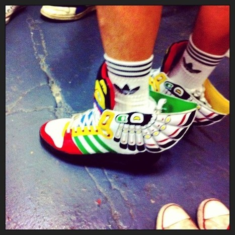 Aracne fila i fila » Blog Archive » Adidas amb referents! | Referentes clásicos | Scoop.it