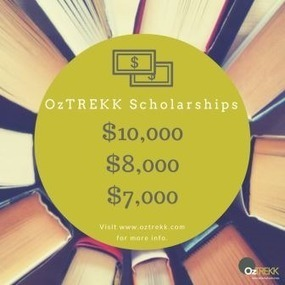 Our OzTREKK scholarships applications are incredible! OzTREKK – Study in Australia | Study in Australia | Scoop.it