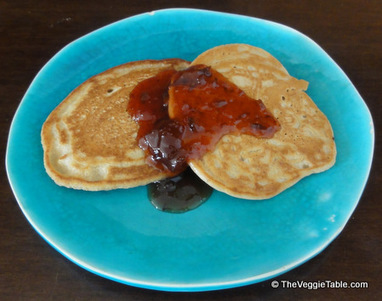 Peanut Butter Pancakes | Vegetarianism | Scoop.it