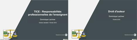 [Edition février 2015] TIC et responsabilités professionnelles de l'enseignant & Droit d'auteur | Langues et TICE | Scoop.it