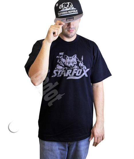 Star Fox Retro Shirt Gamer Black T-Shirt All Size | Cheap Black T-Shirt And Tank Top | Scoop.it