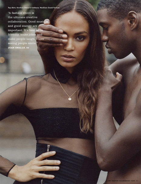Joan Smalls by Matt Jones for i-D Magazine October 2013 | The Fashionography | Fashion | Scoop.it