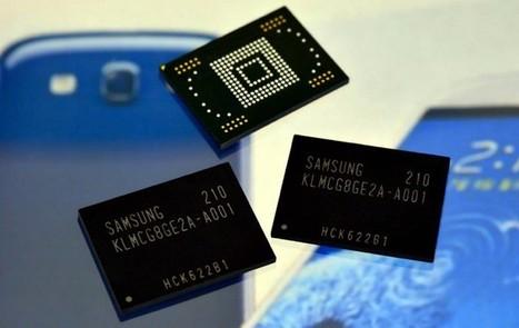 "Samsung starts mass-producing 4x faster mobile flash memory ... | L'impresa ""mobile"" | Scoop.it"