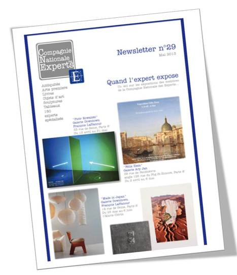 """CNE - Compagnie Nationale des Experts / Newsletter n°29 /Mai 2013 