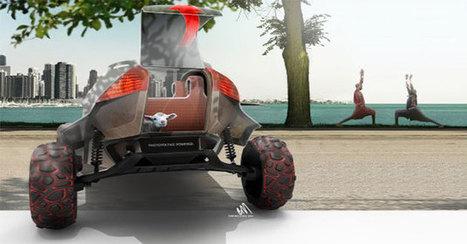 Maasaï et impression 3D :  Masaaica, le concept-car de BMW | L'Etablisienne, un atelier pour créer, fabriquer, rénover, personnaliser... | Scoop.it