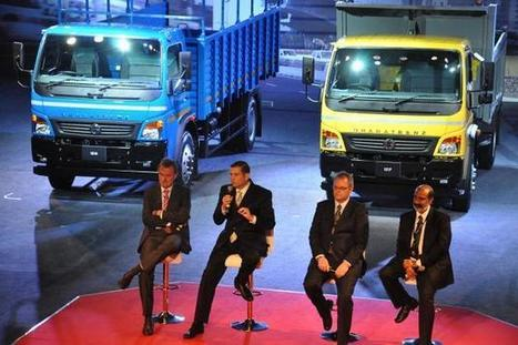 Daimler India to launch 1 truck variant a month for next 17 months - Hindu Business Line | Supply Chains in India | Scoop.it