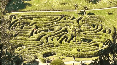 Seven Of The Most Beautiful Botanical Mazes On Earth | Strange days indeed... | Scoop.it