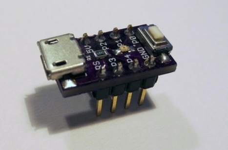 Nanite 85 The Worlds Smallest ATtiny85 Arduino Development Board - Geeky gadgets | FabLab - DIY - 3D printing- Maker | Scoop.it