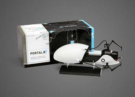 Miniature Portal gun replica now available at Think Geek | High-Tech news | Scoop.it
