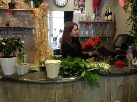 Une flûte à champagne de roses pour la Saint Valentin - Le Daily Neuvième | Le Vin en Grand - Vivez en Grand ! www.vinengrand.com | Scoop.it