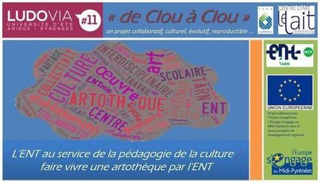 «De Clou à Clou» : L'ENT au service de l'art et de la culture | TECHNIK MUZEO : les nouvelles technologies, outils, les pratiques exemplaires... | Scoop.it