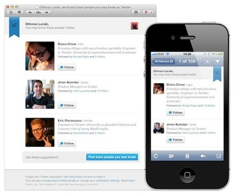 New From Twitter: People You May Know - AllTwitter | All you need to know Twitter | Scoop.it