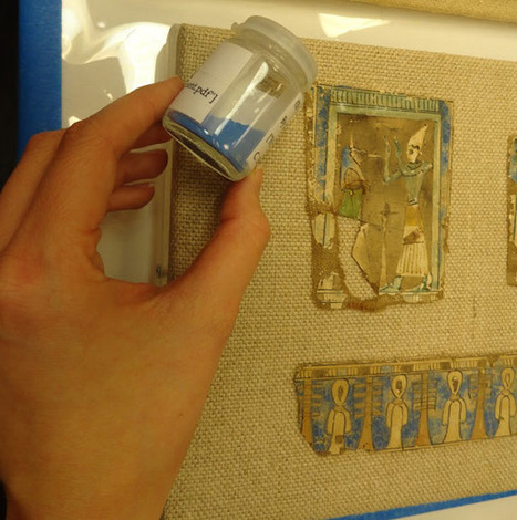 Color The Temple: Using Projected Light to Restore Color | The Metropolitan Museum of Art | News in Conservation | Scoop.it