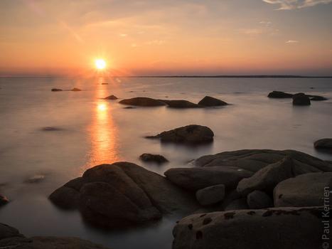 photo en Finistère, Bretagne et...: des secondes de coucher de soleil (4 photos) | photo en Bretagne - Finistère | Scoop.it