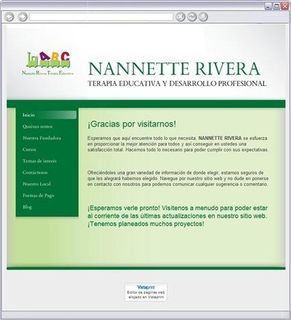 NANNETTE RIVERA  - Inicio   Terapia Educativa   Scoop.it