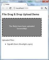 Implementing HTML5 Drag & Drop Based File Upload in ASP.NET MVC 3 | Web Builder Zone | AspNet MVC | Scoop.it