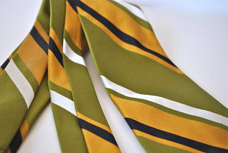 Striped Silk Necktie | Chummaa...therinjuppome! | Scoop.it