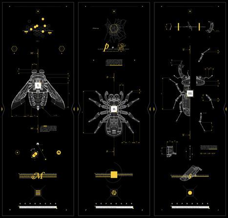 Los insectos mecánicos de Marton Borzak | El Mundo del Diseño Gráfico | Scoop.it