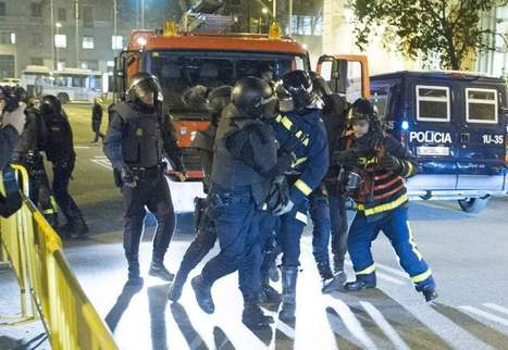 Un bombero entre los once detenidos en la concentración de apoyo a Gamonal en Madrid - 20minutos.es | Mouvement. | Scoop.it