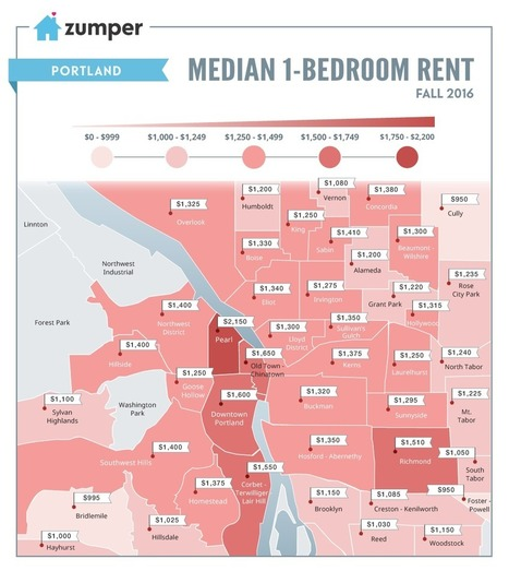Mapping Miami Rent Prices This Fall (October 2016) | Managing Rental properties. | Scoop.it