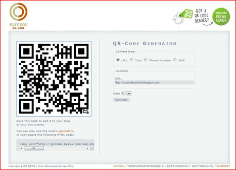 Cool Cat Teacher Blog: QR Code Classroom Implementation Guide | QR | Scoop.it