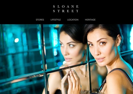Sloane Street, a retail destination in central London | Digital Portfolio by Small Back Room | Scoop.it