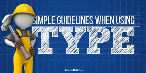 Simple Guidelines When Using Type | WPAA-TV and Media Center - Tools & Stage | Scoop.it