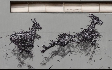 By DALeast – In Johannesburg, South Africa | World of Street & Outdoor Arts | Scoop.it
